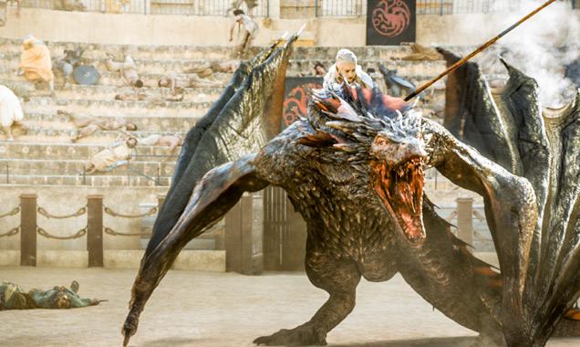 Emilia Clarke stars as Queen Daenerys Targaryen in 'Game of Thrones'