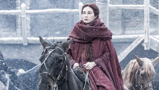 Carice van Houten in 'Game of Thrones'