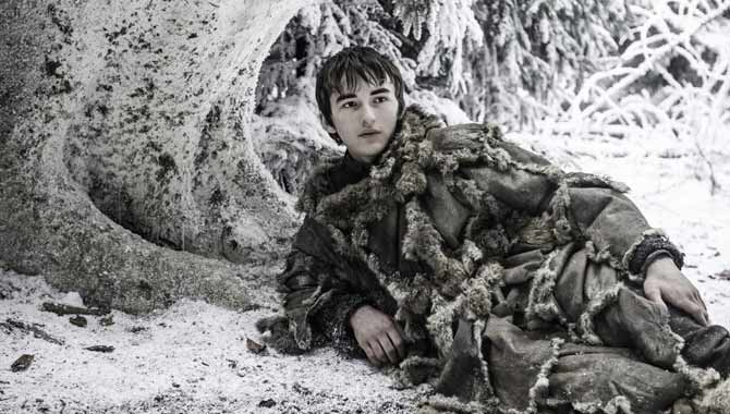Isaac Hempstead Wright plays Bran Stark in 'Game Of Thrones'