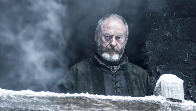 Liam Cunningham's character Ser Davos Seaworth has survived 'Game of Thrones' to this point
