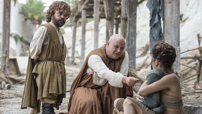 Peter Dinklage and Conleth Hill in Game of Thrones