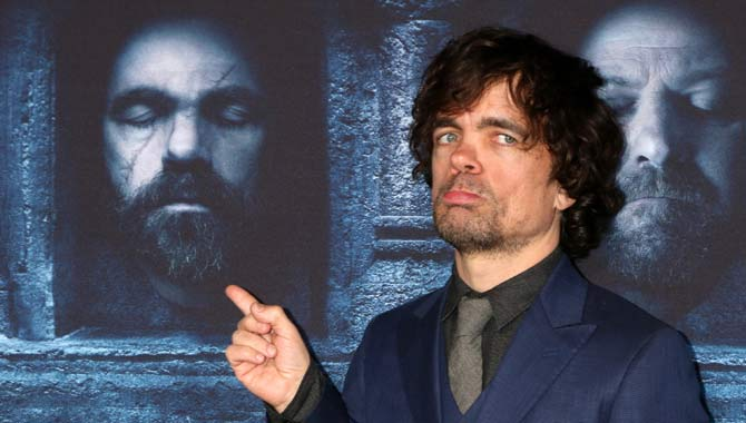 Peter Dinklage stars as Tyrion Lannister in 'Game of Thrones'