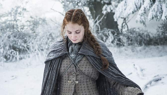 Sophie Turner returned to 'Game of Thrones' this season as Sansa Stark