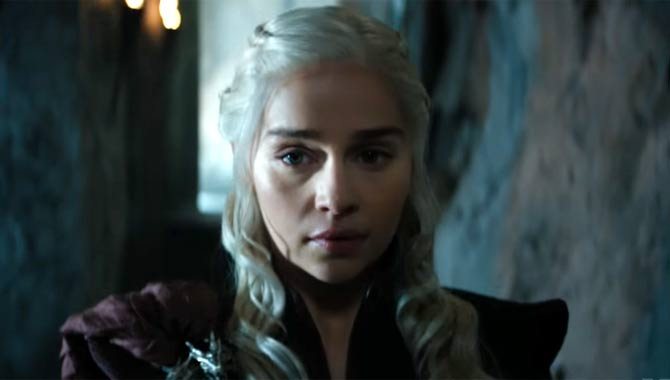 Emilia Clarke has played Daenerys Targaryen for seven seasons to-date
