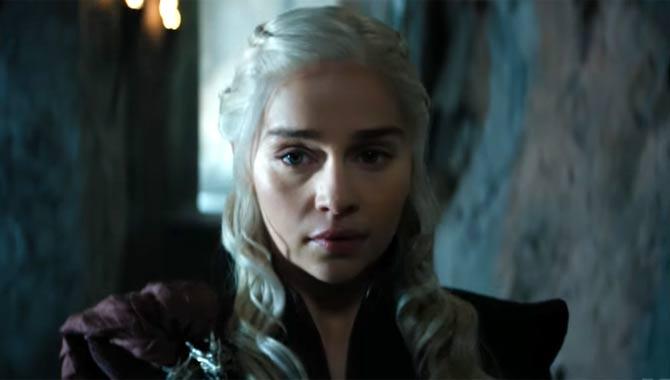 Emilia Clarke stars as Daenerys Targaryen in 'Game of Thrones'
