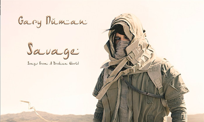 Gary Numan to unveil 'Savage: Songs from a Broken World'