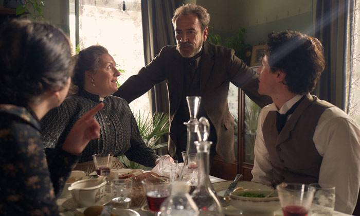 'Genius' stars Claire Rushbrook, Robert Lindsay and Johnny Flynn