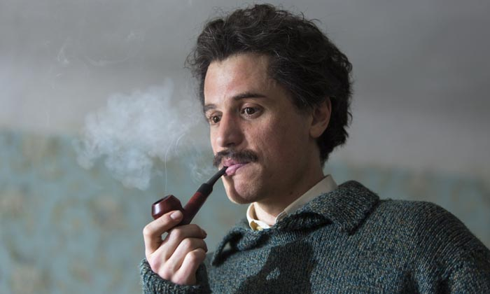 Johnny Flynn And Geoffrey Rush Channel Their Inner Einstein For 'Genius'