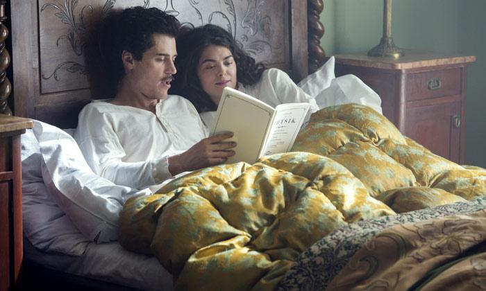 Samantha Colley plays Einstein's first wife Mileva Maric