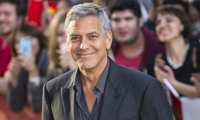 George Clooney at the 'Suburbicon' premiere