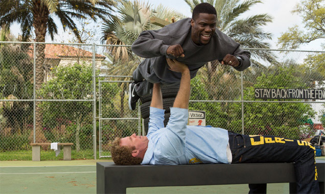 Kevin Hart and Will Ferrel in 'Get Hard'