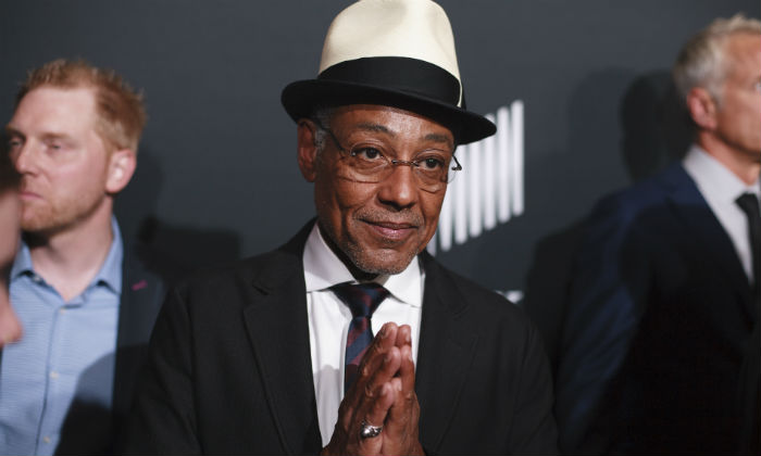 Giancarlo Esposito at San Diego Comic Con 2018
