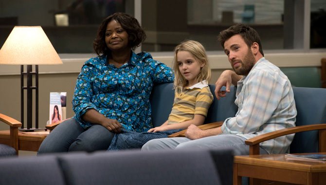 Octavia Spencer, Mckenna Grace and Chris Evans star in 'Gifted'
