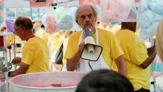 Christopher Lloyd also stars in Going In Style