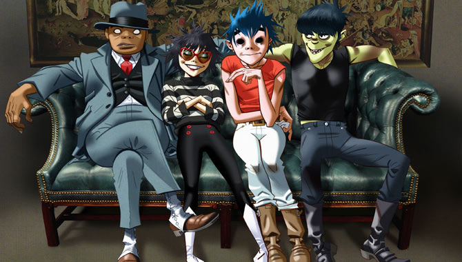 Gorillaz are back with new music and a planned TV series