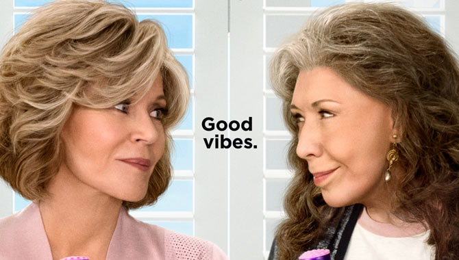 Seasons 1-3 of 'Grace and Frankie' are available now on Netflix
