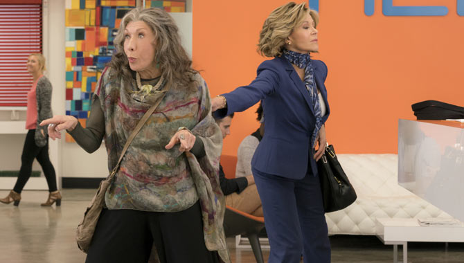 Lily Tomlin and Jane Fonda star in 'Grace and Frankie'