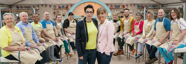 Great British Bake Off 2014 contestants