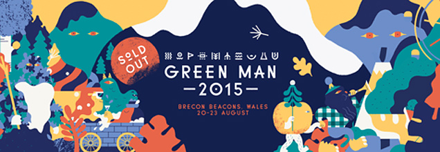 Green Man 2015 logo