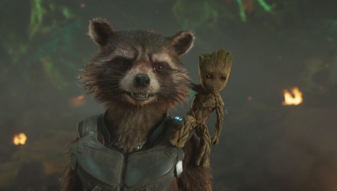 Vin Diesel and Bradley Cooper lend their voices to 'Guardians of the Galaxy Vol. 2'