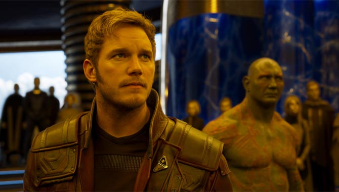 Chris Pratt Felt Fan Pressure While Making Guardians Of The Galaxy Vol 2