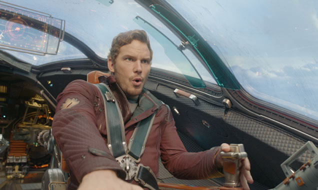 Chris Pratt is Peter Quill aka Star-Lord in 'Guardians of the Galaxy'