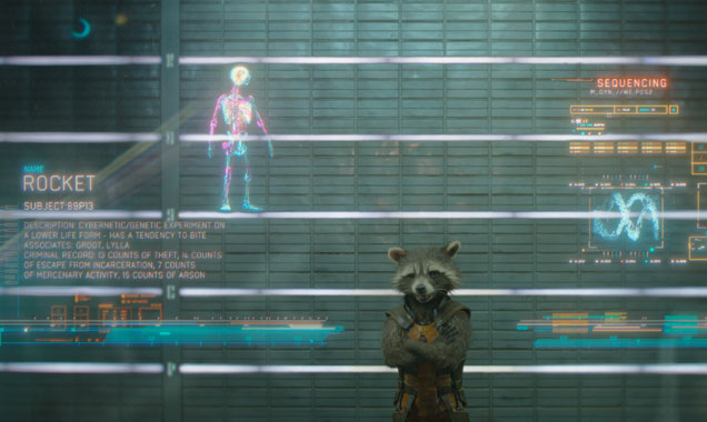 Bradley Cooper lends his voice to Rocket in 'Guardians of the Galaxy'