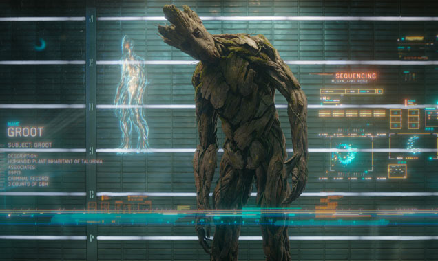 Vin Diesel voices Groot in 'Guardians of the Galaxy'