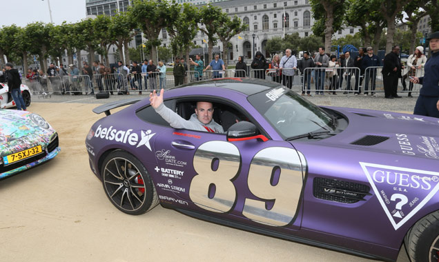 Colin White at Gumball 3000