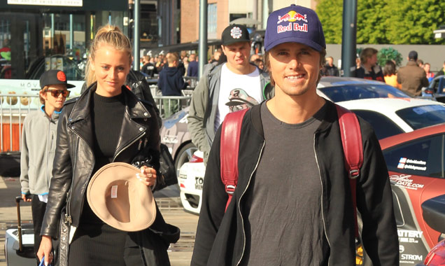 Jon Olsson and Janni Deler at Gumball 3000