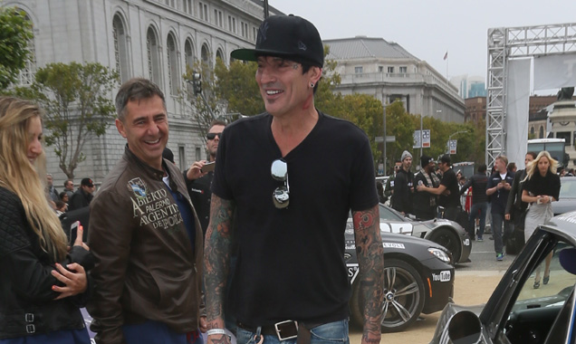 Tommy Lee at Gumball 3000