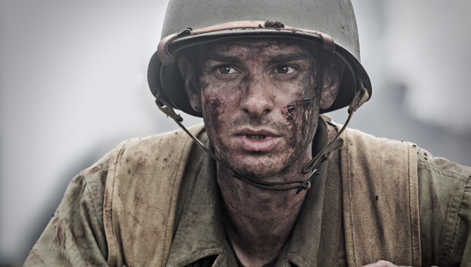 Andrew Garfield Loved The Camaraderie Of Hacksaw Ridge