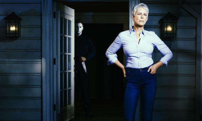 Jamie Lee Curtis in 'Halloween'