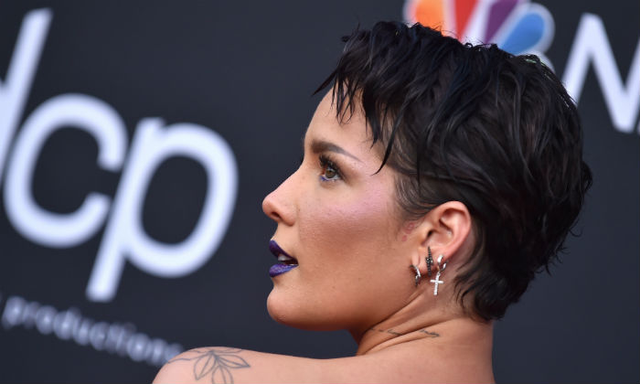 Halsey at the Billboard Music Awards 2019 / Photo Credit: O'Connor/AFF/PA Images