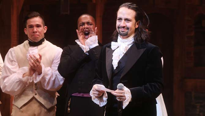 Rising Star Of 2017? Lin-Manuel Miranda Goes From Hamilton to Hollywood