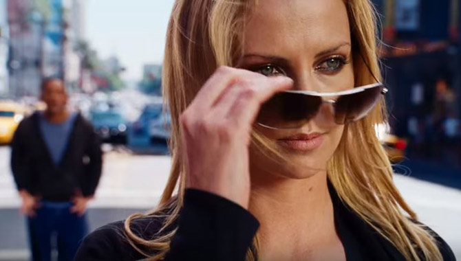 It was Charlize Theron vs. Will Smith in 'Hancock'