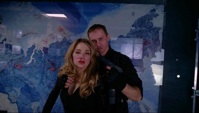 Haley Bennett in 'Hardcore Henry'