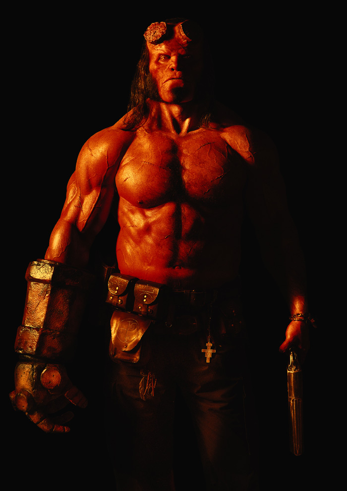 David Harbour in a first look image for 'Hellboy'
