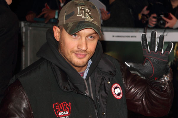 Tom Hardy -He's a success in the action genre.