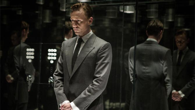 Tom Hiddleston plays the lead role in High-Rise