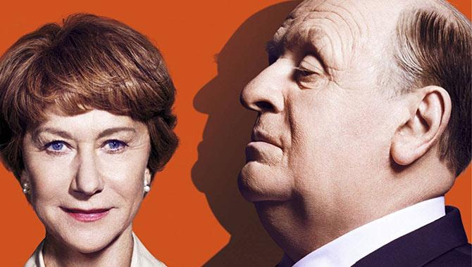 'Hitchcock' stars Helen Mirren and Anthony Hopkins