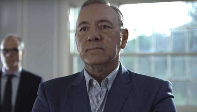 Kevin Spacey Officially Fired From Netflix