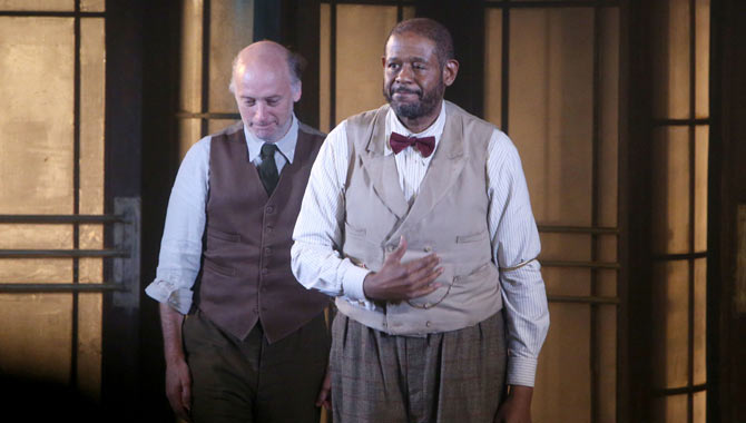 Forest Whitaker Fails To Engage Critics With His Broadway Debut 'Hughie'