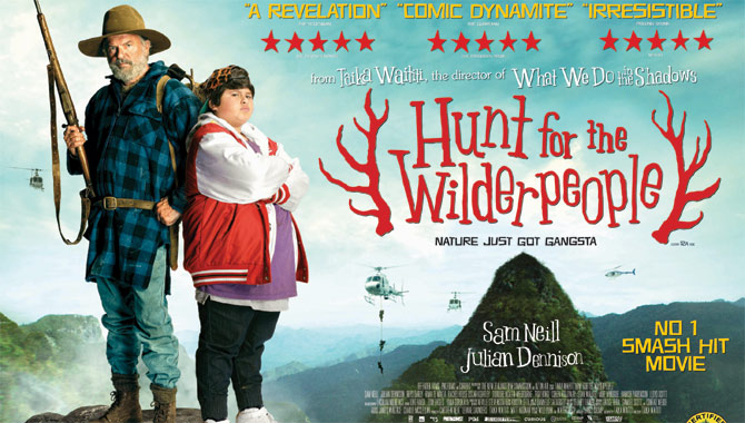 Sam Neil stars in Hunt For The Wilderpeople