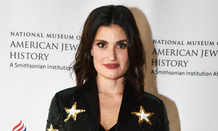 Idina Menzel at The National Museum of American Jewish History's Only in America Gala