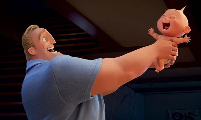 Baby Jack-Jack's powers are growing in 'Incredibles 2'