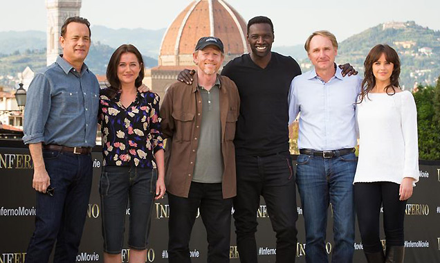 'Inferno' cast photocall