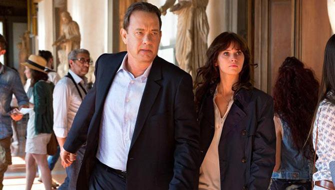 Tom Hanks and Felicity Jones 2