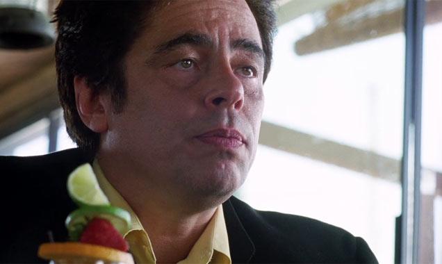 Benicio Del Toro in 'Inherent Vice'