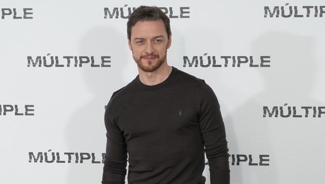 James at the US premiere of Split